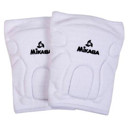 Olympia Sports VB247P Mikasa Championship Knee Pads - Youth - White - I Love Volleyball