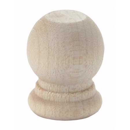 - Wood Turning Shapes-Ball Finials 6/Pkg .9375