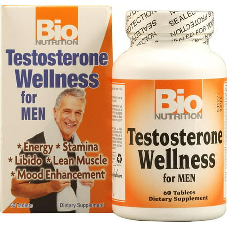 Bio Nutrition Testosterone Wellness For Men 60 Tablets
