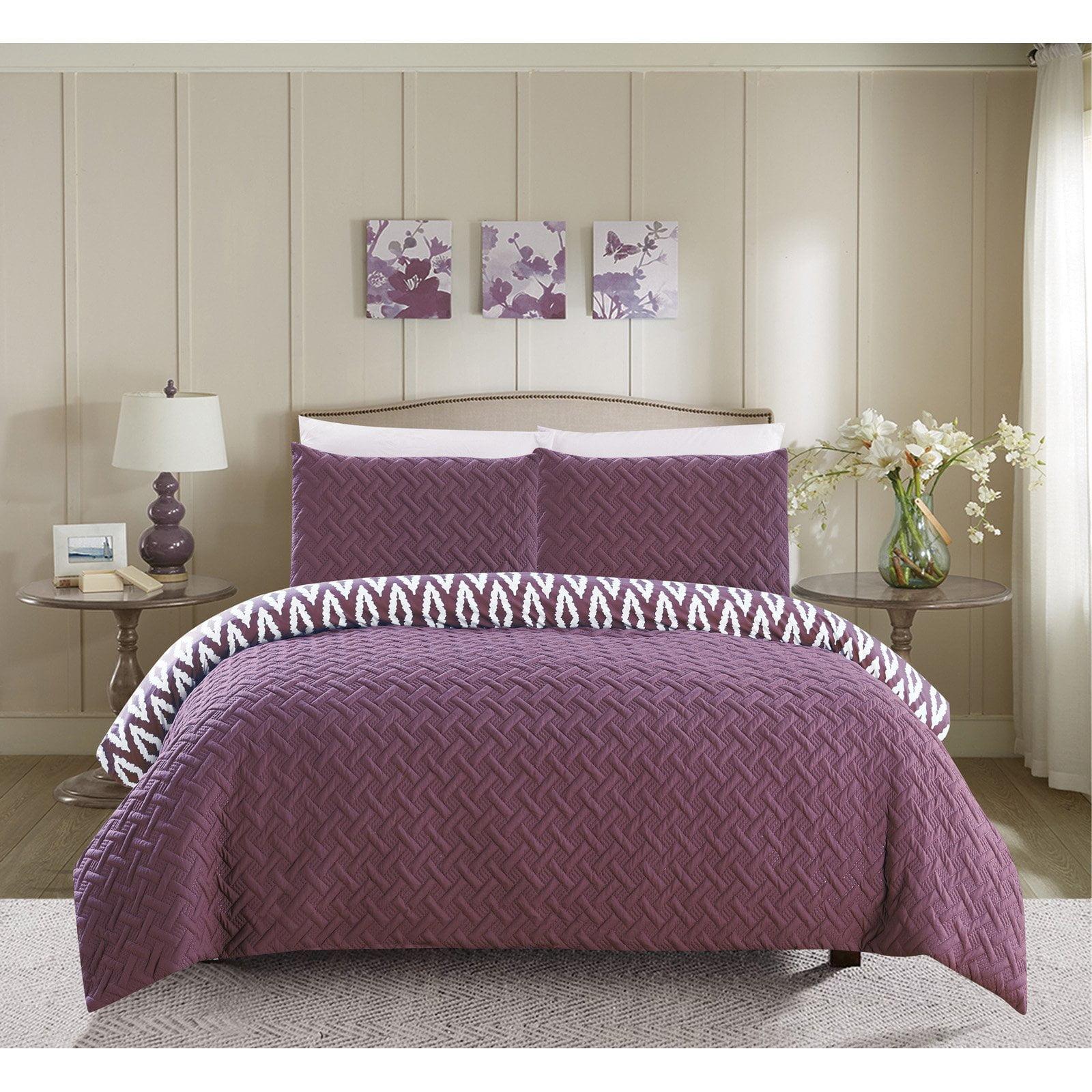 Chic Home Sabina 7 Piece Reversible Comforter Set