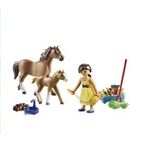 PLAYMOBIL Spirit Riding Free Pru with Horse and Foal