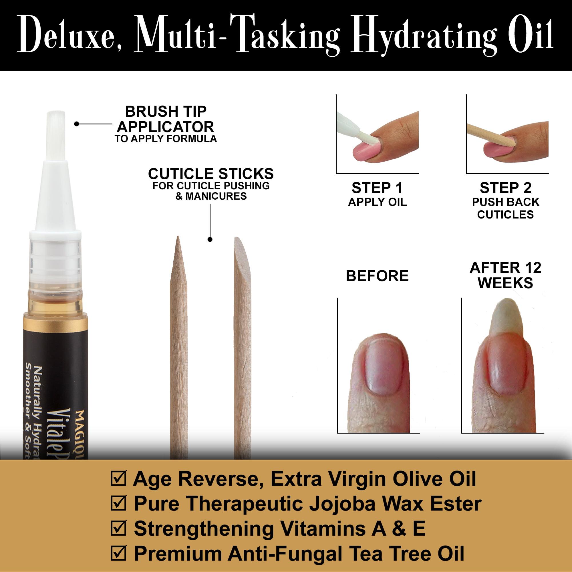 Magique VitalePen, Cuticle and Nail Oil Pen, 14 Oz, 2 Ct - Walmart.com