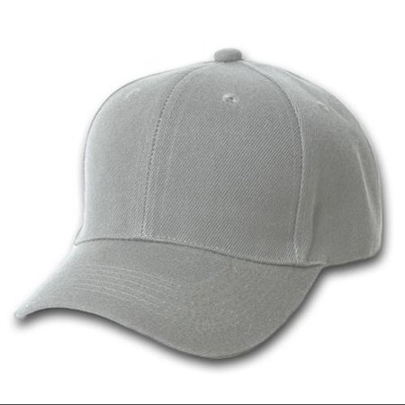 Plain Grey Adjustable Hat](Grad Hat)
