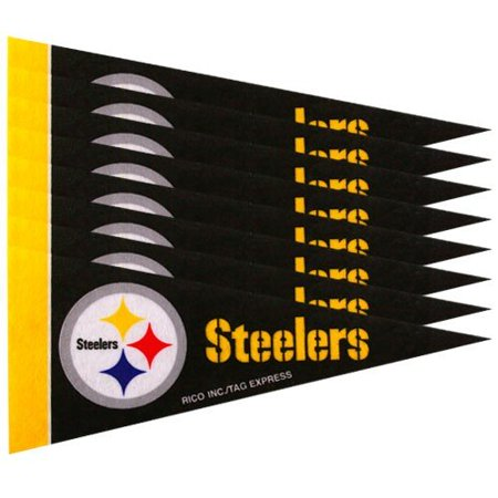 Pittsburgh Steelers 8 Piece Mini Pennant Set (Halloween Dance Party Pittsburgh)