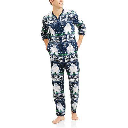Men's Ugly Yeti Union Suit Onesie