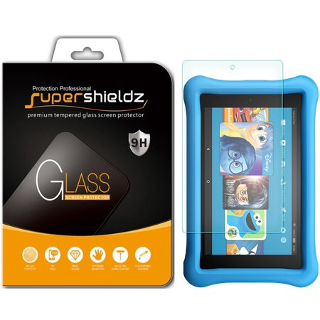 1 Pack  Supershieldz Amazon All New Fire Hd 8 Kids Edition Tablet 8   2017 Release   Tempered Glass Screen Protector  Anti Scratch  Anti Fingerprint  Bubble Free