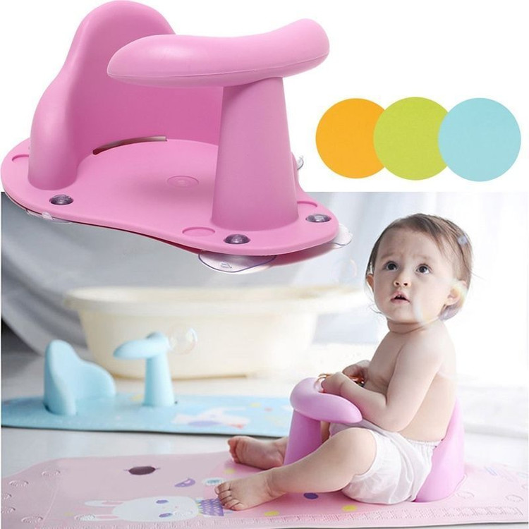 Baby Bathtub Ring Seat Infant Child Toddler Kids Anti Slip Safety Security Chair Non-slip Baby Care Bath... by OUTAD