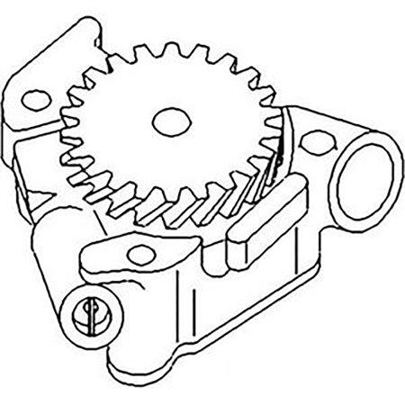 2130440 New Deutz Allis Oil Pump F3L912 F3L913 F3L913G