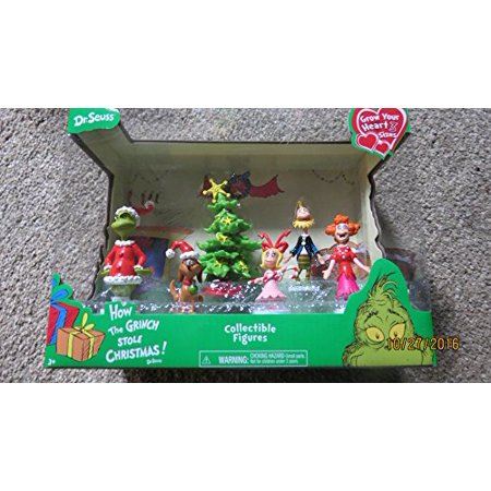 How The Grinch Stole Christmas Cindy Lou Dad.Dr Seuss How The Grinch Stole Christmas Collectible Figures