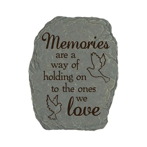 Carson Home Accents Memories Love - Garden Stone