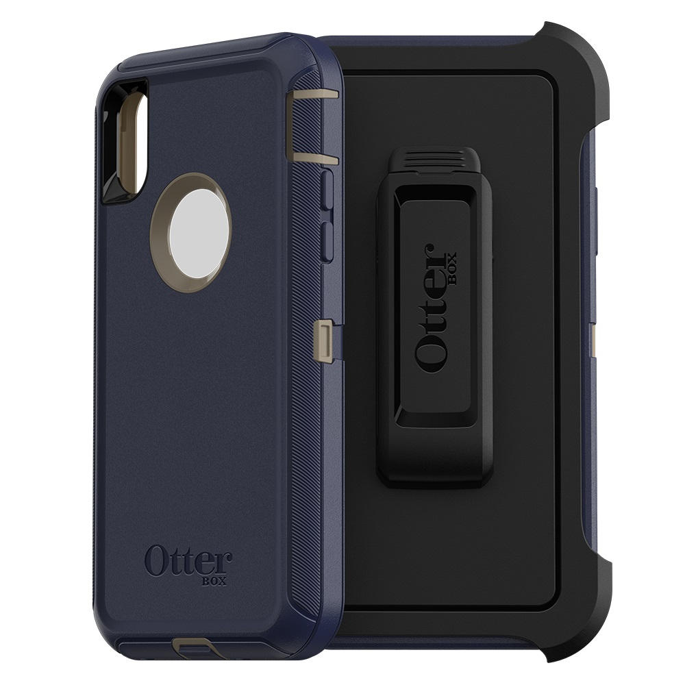 Otterbox Defender Case for Apple iphone XS Max Dark Lake by Otter Products, LLC