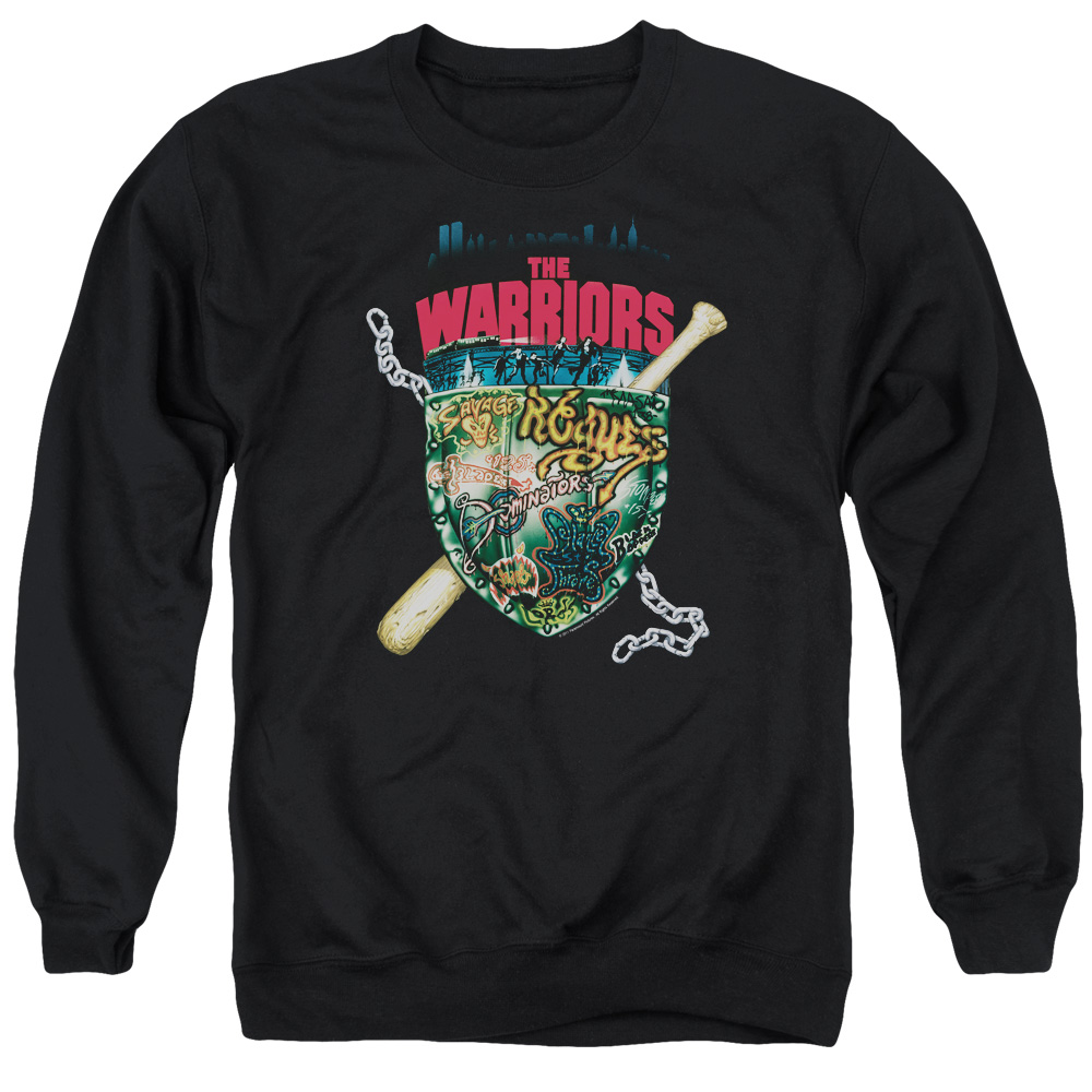 Warriors Shield Mens Crewneck Sweatshirt