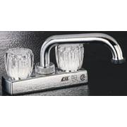 Boston Harbor Non-Metallic Laundry Faucet 2 Handle 7.48 In L X 6.3 In W X 7.87 In H Chrome