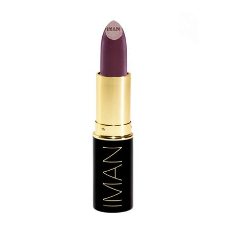 IMAN Luxury Moisturizing Lipstick Wild Thing Lipstick, 0.13 oz - Iman Luxury Moisturizing Lipstick