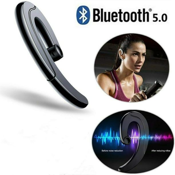 Bluetooth Headset Ear Hook Wireless Headphones Bone Conduction Headphones No Ear Plug Earbuds Hand Free Call For Cell Phone Walmart Com Walmart Com