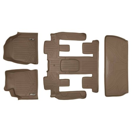 Maxliner 2008 2016 Chevrolet Traverse Buick Enclave Custom Fit Floor Mat Cargo Liner Tan A1043 B1044 D1044