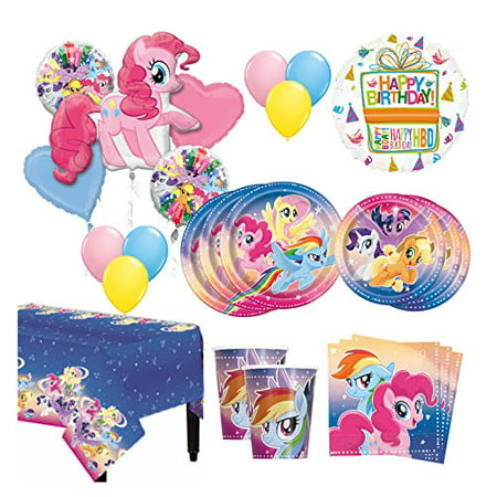 The Ultimate 8 Guest 53pc My Little Pony Birthday Party Supplies - Cheap Party Supply Stores