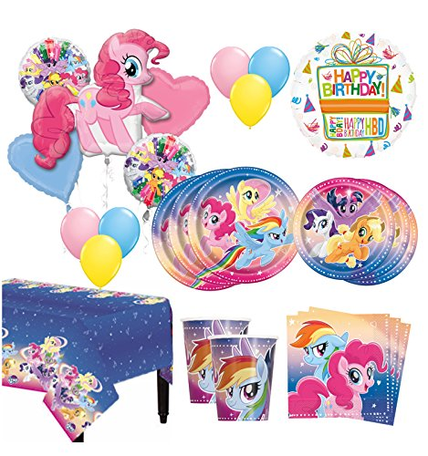 The Ultimate 8 Guest 53pc My Little Pony Birthday Party Supplies