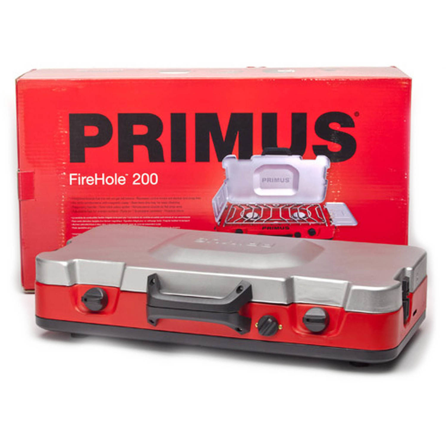 Primus Firehole 200 Propane Camp Stove with Universal Winds