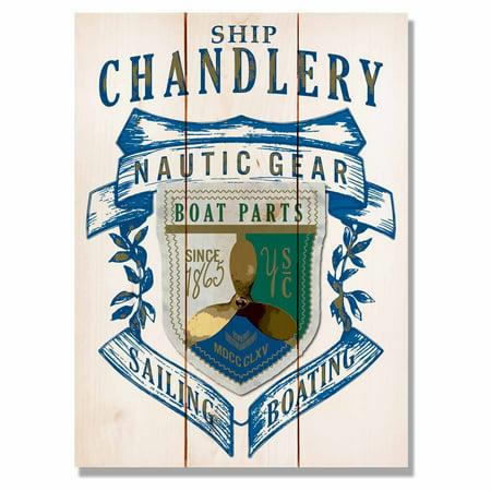 Daydream Ship Chandlery Gear Indoor Outdoor Wall Art