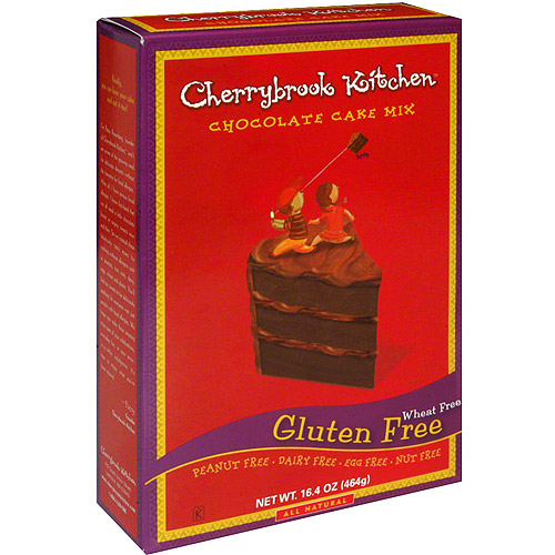 Kitchen Cake Mix Chocolate Wheat free Gluten Free, 16.4 oz. (Pack of 6)