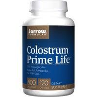 Jarrow Formulas Colostrum Prime Life, Supports Gastroinestinal, Immune, Respiratory Health, 500 mg, 120 Caps