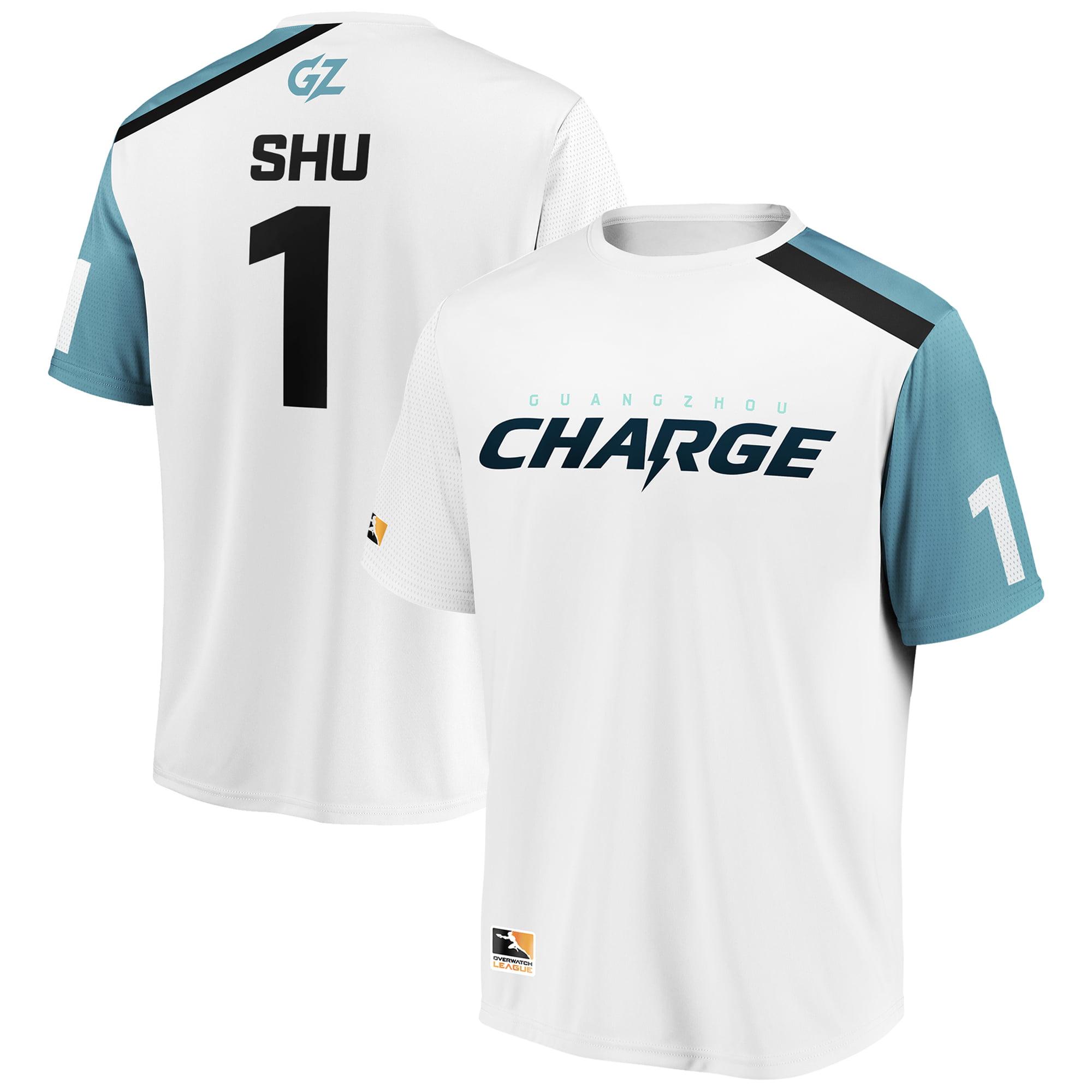 Shu Guangzhou Charge Overwatch League Replica Away Jersey - White