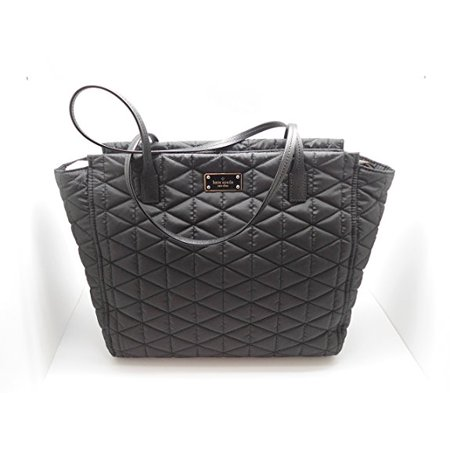Kate Spade Blake Avenue Quilted Taden Handbag Tote Black ()