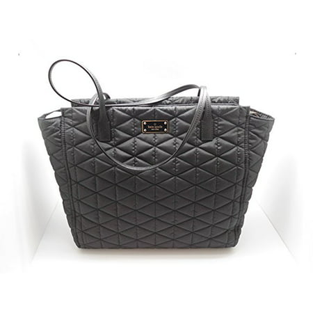 Kate Spade Striped Handbags - Kate Spade Blake Avenue Quilted Taden Handbag Tote Black