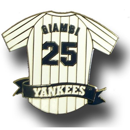 - Jason Giambi Yankees Jersey Pin