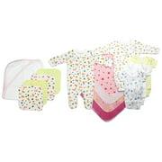 Bambini Newborn Baby Shower Layette Gift Set, 18pc (Baby Girls)