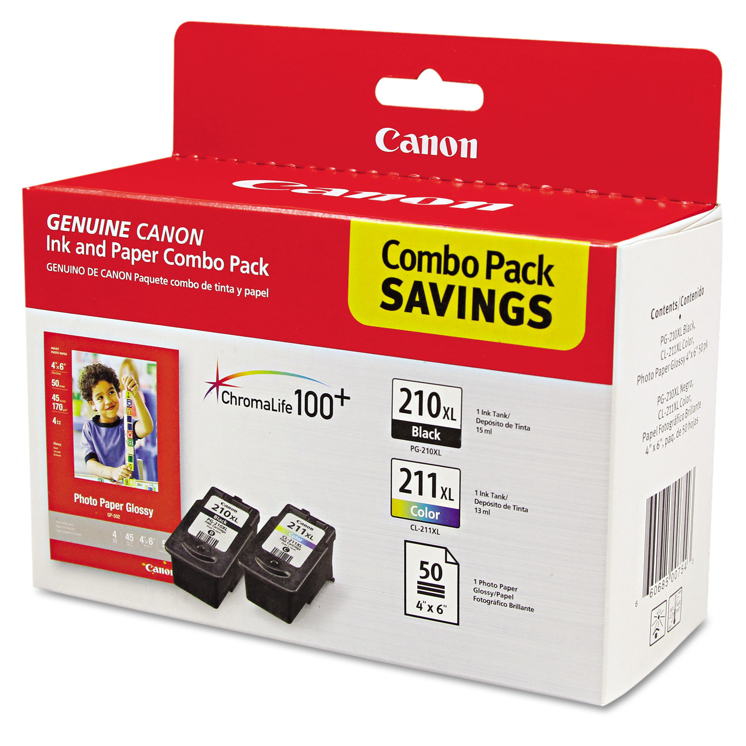 Canon 210Xl And 211Xl Ink Cartridges