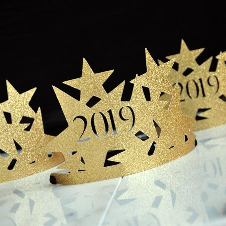 New Years Eve Hats 2019. Handcrafted in 1-3 Business Days. New Years Eve Favors. 1 Crown.