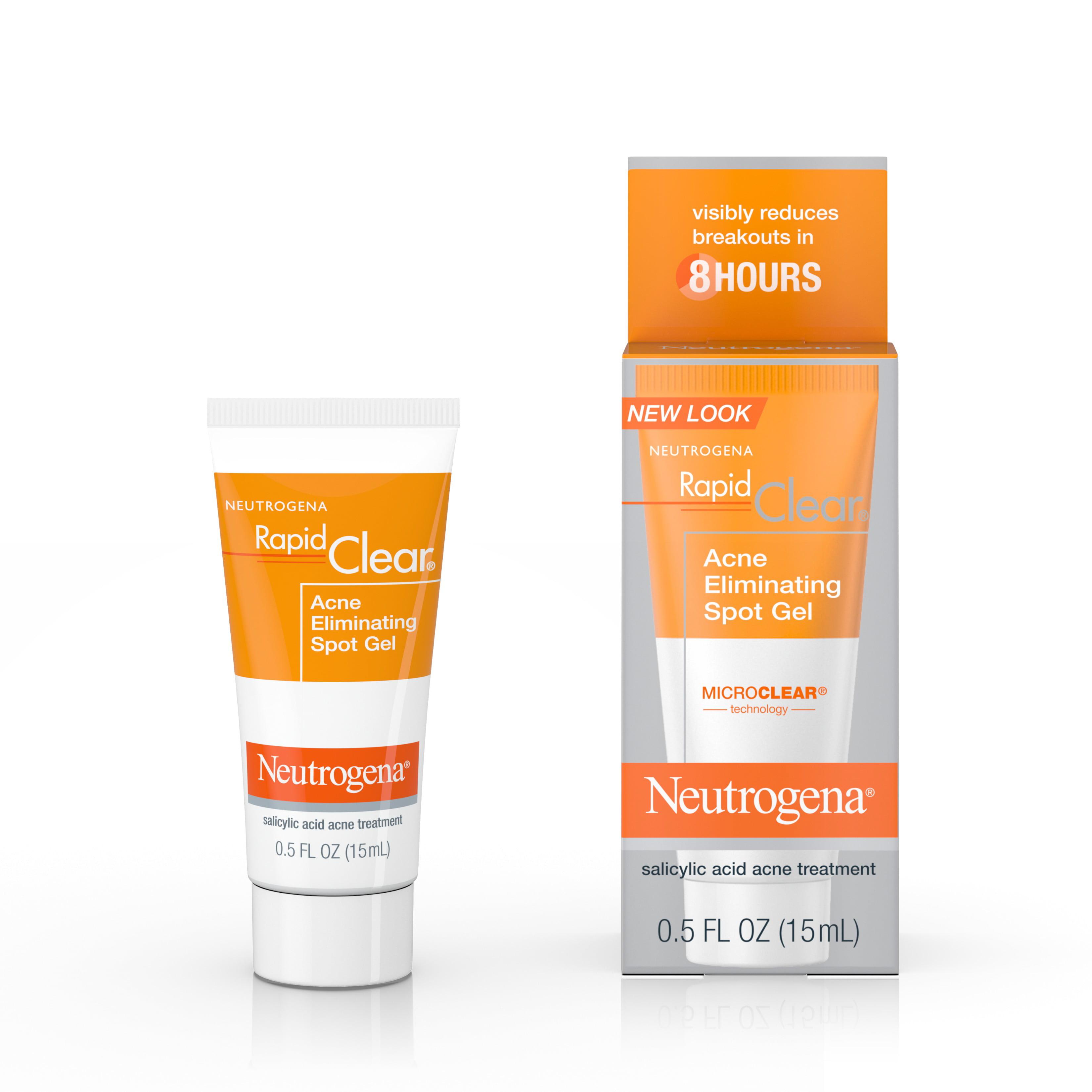 Neutrogena Rapid Clear Acne Eliminating Spot Treatment Gel, 0.5 fl. oz