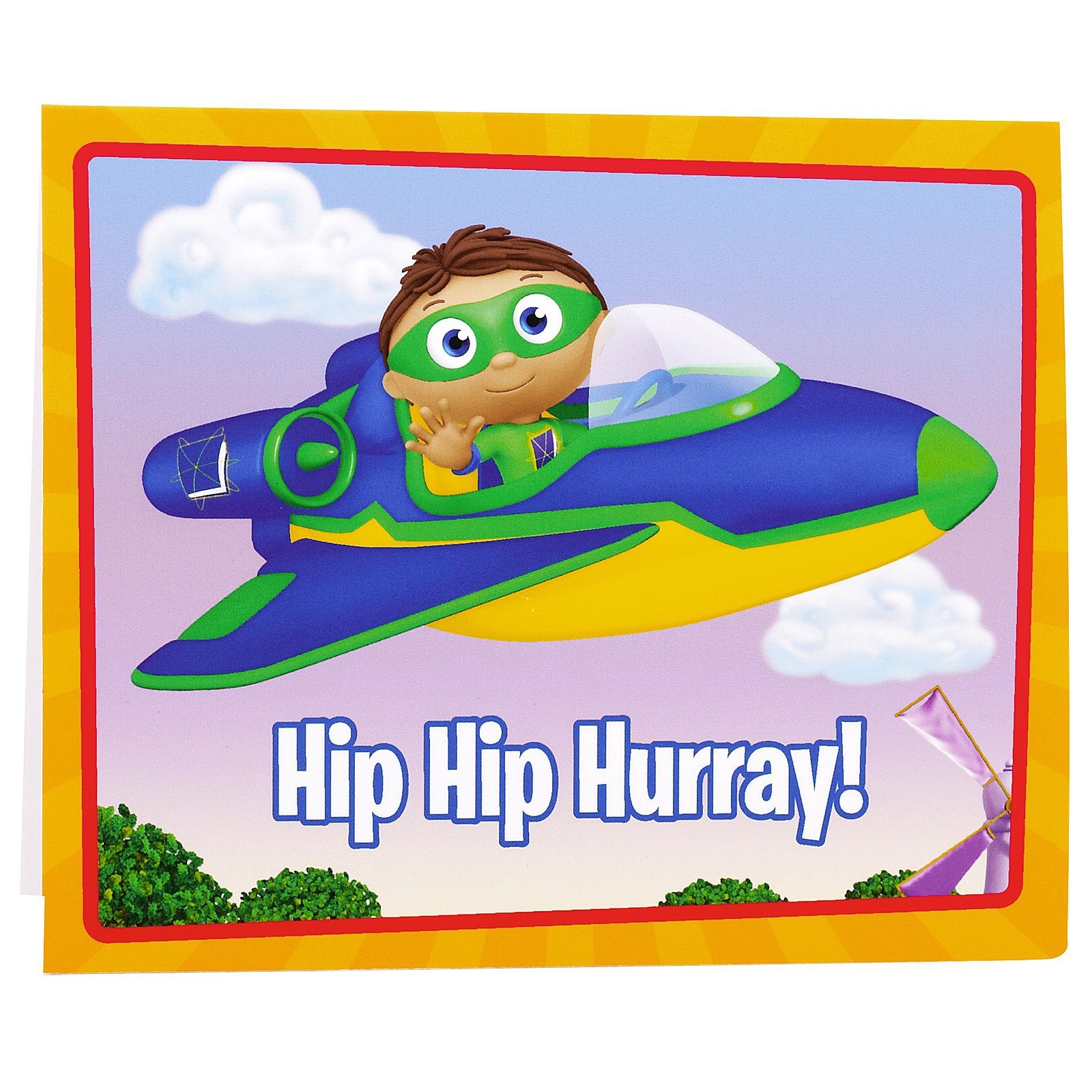 Super Why  Thank-You Notes