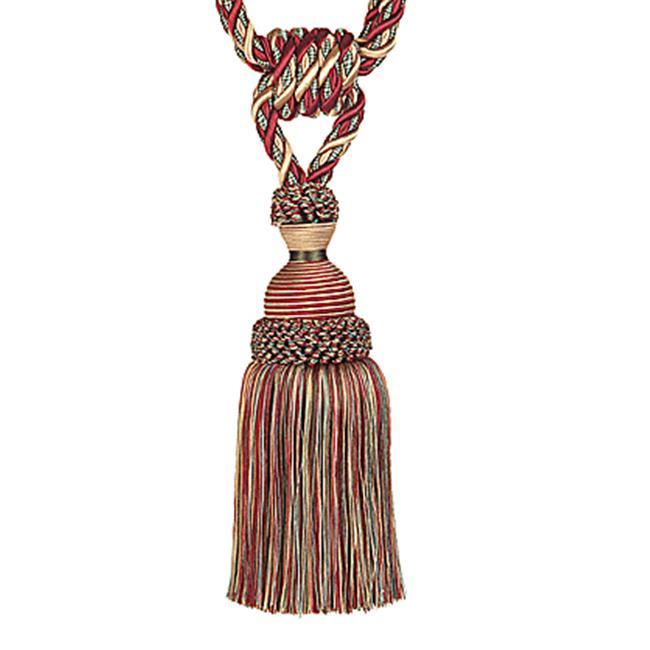 Trimland 3076-10-242 31.5 in. Antique Single Tassel Tieback