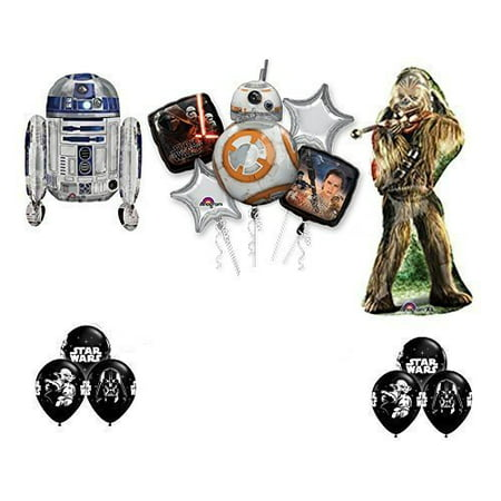 The Ultimate Star Wars Birthday Party Supplies and Balloon decorations