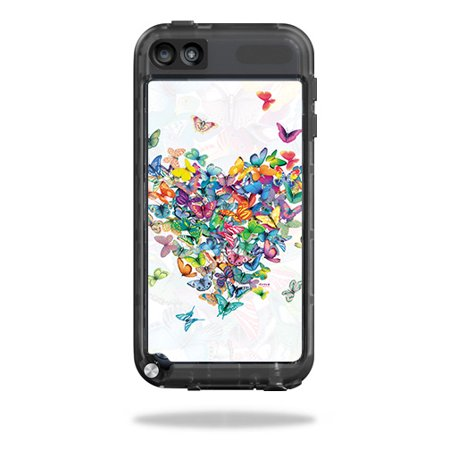 MightySkins Skin Compatible With LifeProof iPod Touch 5th Gen Case – Action Fish Puzzle | Protective, Durable, and Unique Vinyl wrap cover | Easy To Apply, Remove, and Change Styles | Made in the