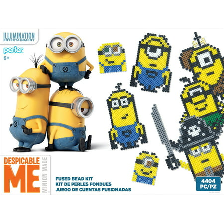 Perler Despicable Me 3 Fused Bead Kit - Characters - Beading Supplies Near Me