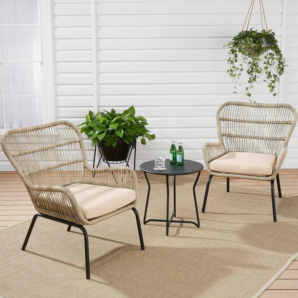 Mainstays Adina Bay Outdoor Patio Furniture 3 Piece Wicker ...
