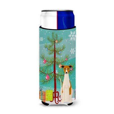 Merry Christmas Tree Whippet Michelob Ultra Hugger for Slim Cans - image 1 de 1
