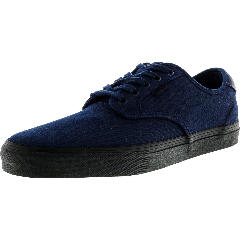Vans Men's Chima Ferguson Pro Mono Dress Blues Ankle-High Canvas Skateboarding Shoe - 11M