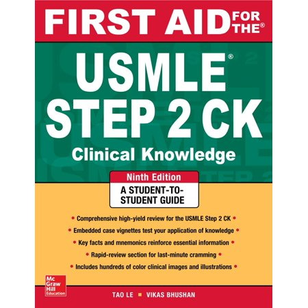 First Aid USMLE: First Aid for the USMLE Step 2 Ck, Ninth Edition (9th Edition 2 Player Starter)