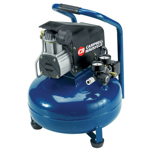 Campbell Hausfeld 6-Gallon, 125 PSI Air Compressor