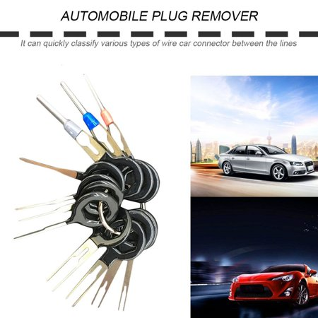 11pcs Car Terminal Removal Tool Wiring Connector Extractor Puller Release Pin - image 2 of 8