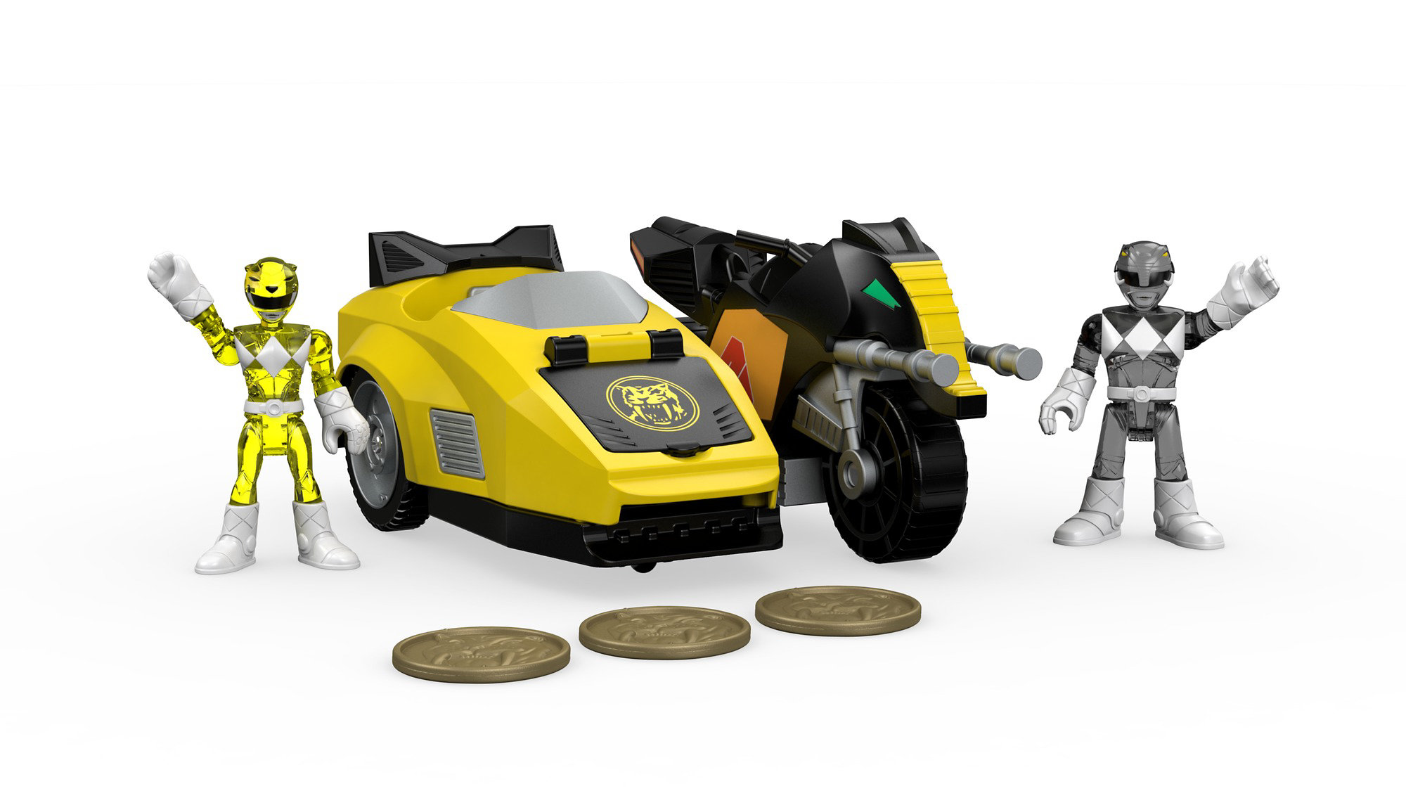 IMaginext Power Rangers Mastodon Battle Bike by Mattel