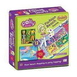 Polly Pocket Fashion Beach Game - Beach Themed Games