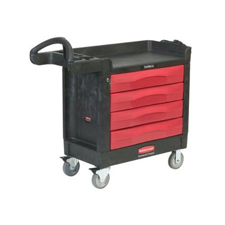 Rubbermaid Trademaster Professional Contractor Utility Cart Product Picture