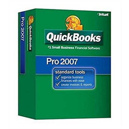 Quickbooks Pro 2007 Small Business Financial Software
