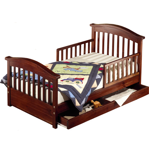 Joel Toddler Bed - Oak